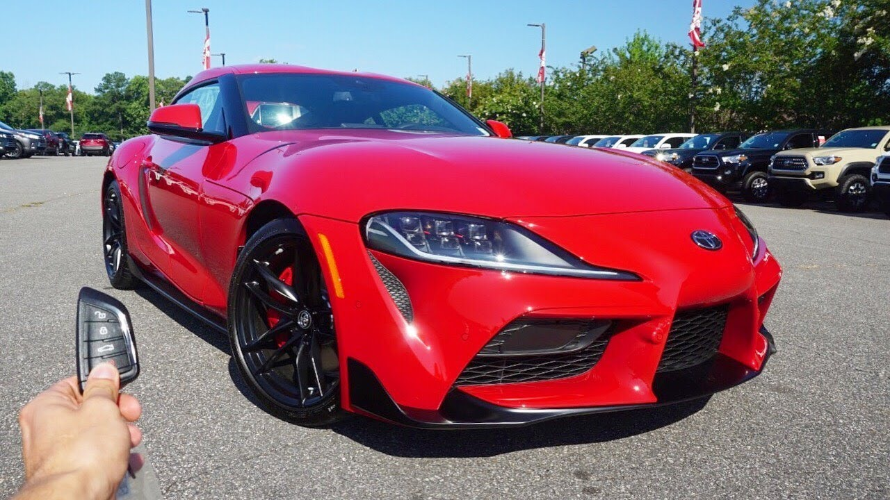 2020 Toyota GR Supra Launch Edition: Start Up, Exhaust ...