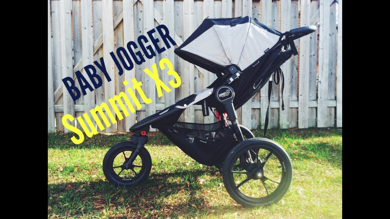 Jogging Stroller Review Summit X3 By Baby Jogger