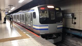 E217系クラY-11編成+クラY-108編成東京発車