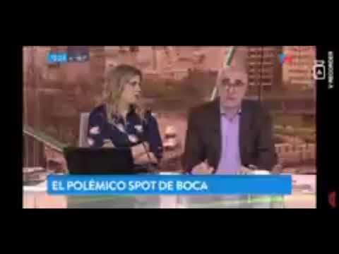 Ricardo Canaletti estalló por el spot de Boca:
