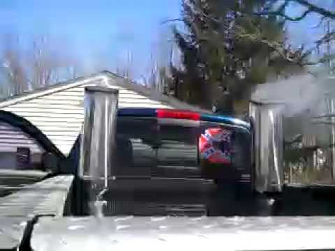 Dodge Cummins With 10 Quot Stacks Youtube