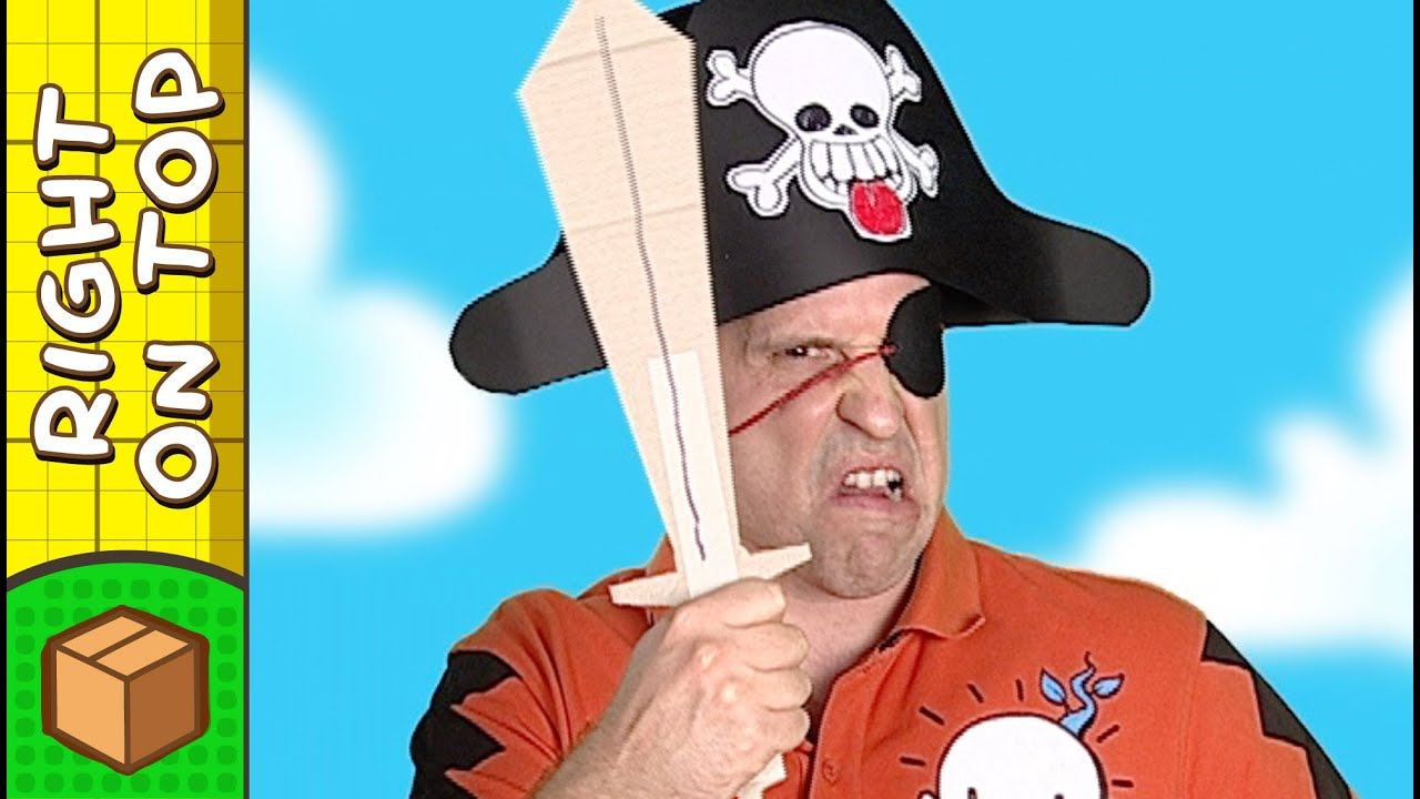 paper pirate hat crafts ideas for kids diy on boxyourself youtube