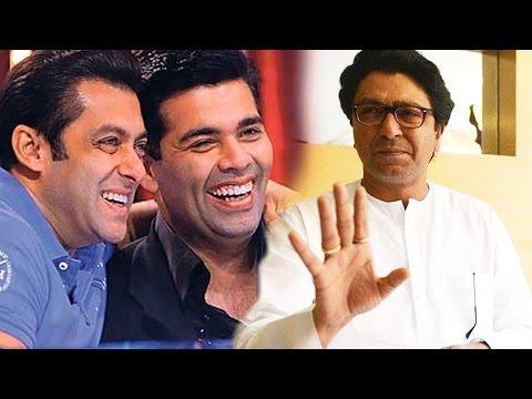 Salman Khan SUPPORTS Karan Johar, Calls Up MNS Raj Thackeray - Pakistan Artist Controversy