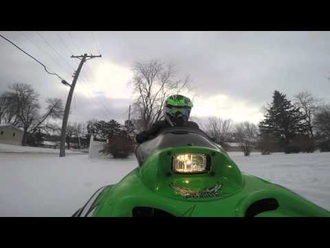 Cru Jan 3 Arctic Cat ZR 120 Yamaha SnoSport