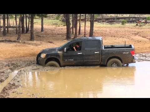 Nissan Titan Mud Bog