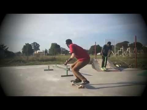 Charles Kaluya and homies skateboarding in Zambia