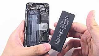 日本一分かりやすい iPhone 修理動画 iPhone 5 バッテリー 交換 | 自分で修理.COM thumbnail