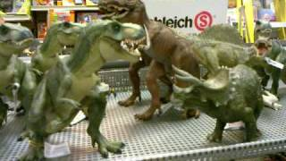 T-Rex Vs. Triceratops: Who