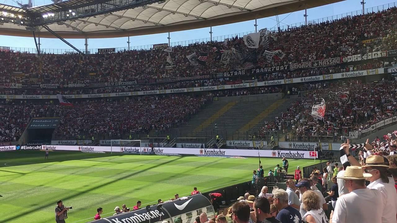 Eintracht Frankfurt Vs Schalke04 1 Spieltag 2016 17 Youtube