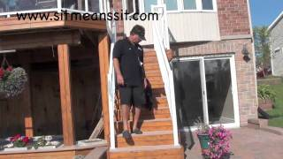 Dog Training Information : How To Train A Dog To Walk On Stairs