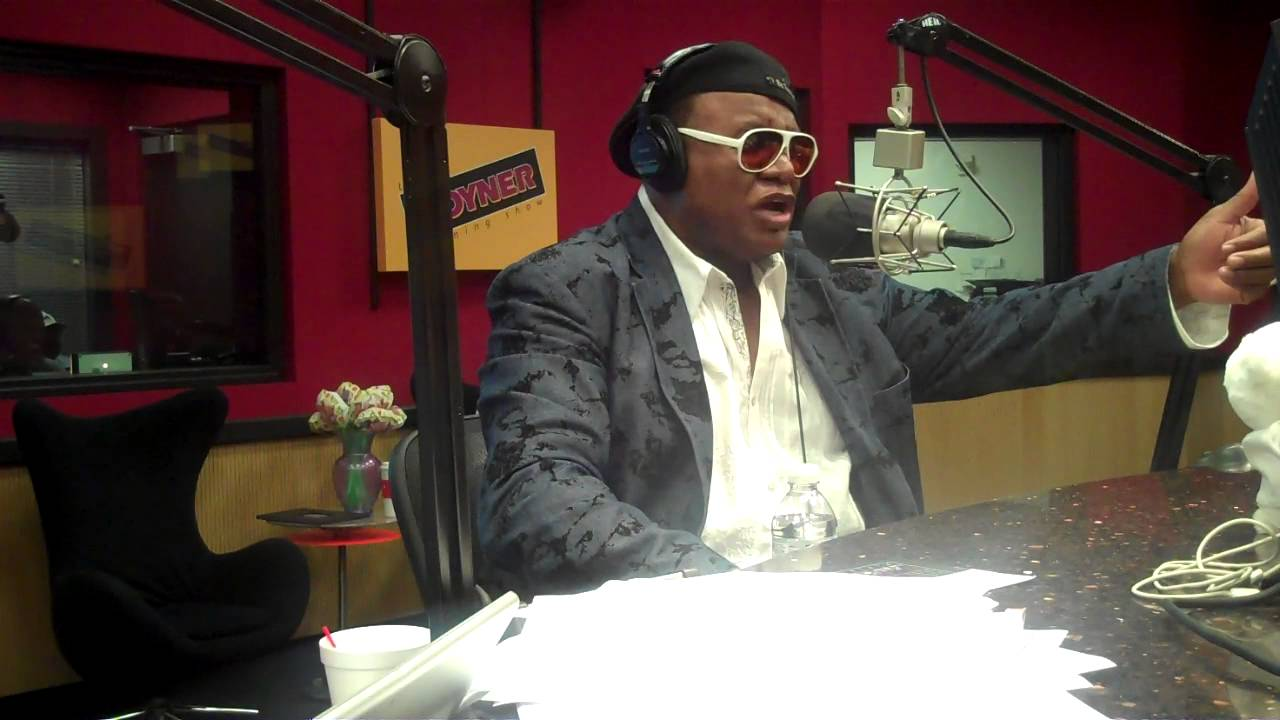 Comedian George Wallace interviews on the Tom Joyner ...