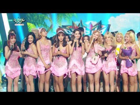 [1080p] 150828 [SNSD] / Lion Heart - NO.1  Music Bank