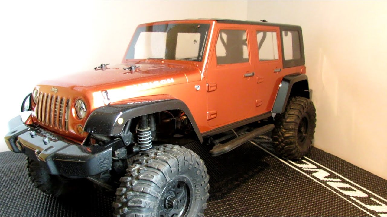RC Project 1 | Pro-Line Jeep Wrangler Unlimited Rubicon | How To Paint A  Lexan Body