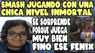 SMASH SE ENCUENTRA A UNA CHICA INMORTAL Y SE SORPRENDE PORQUE JUEGA MUY BIEN   DOTA 2