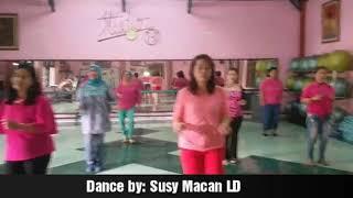 Ronda Dance - line dance (Wenarika - INA - May 2017), demo by Susy Macan LD