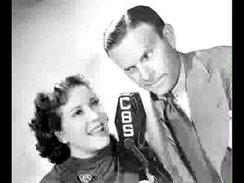 Burns & Allen radio show 12/19/46 Gracie Looking for Job