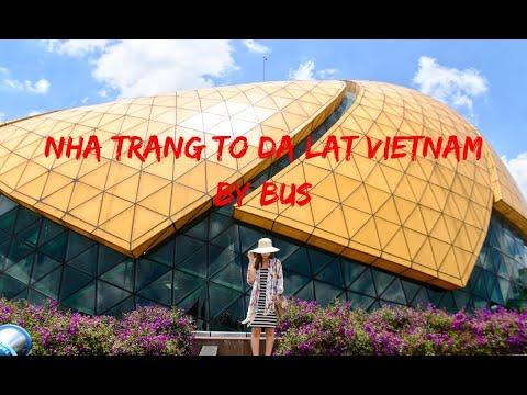 Nha Trang to Da Lat Vietnam by Bus