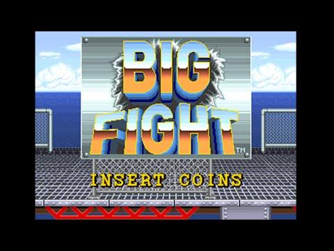 Big Fight Arcade (1992) Playthrough!