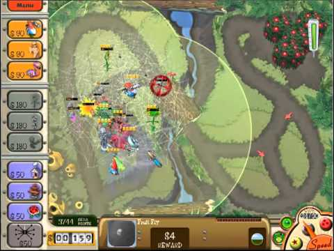 Garden Defense Birdsong Woods 1 Very Hard YouTube