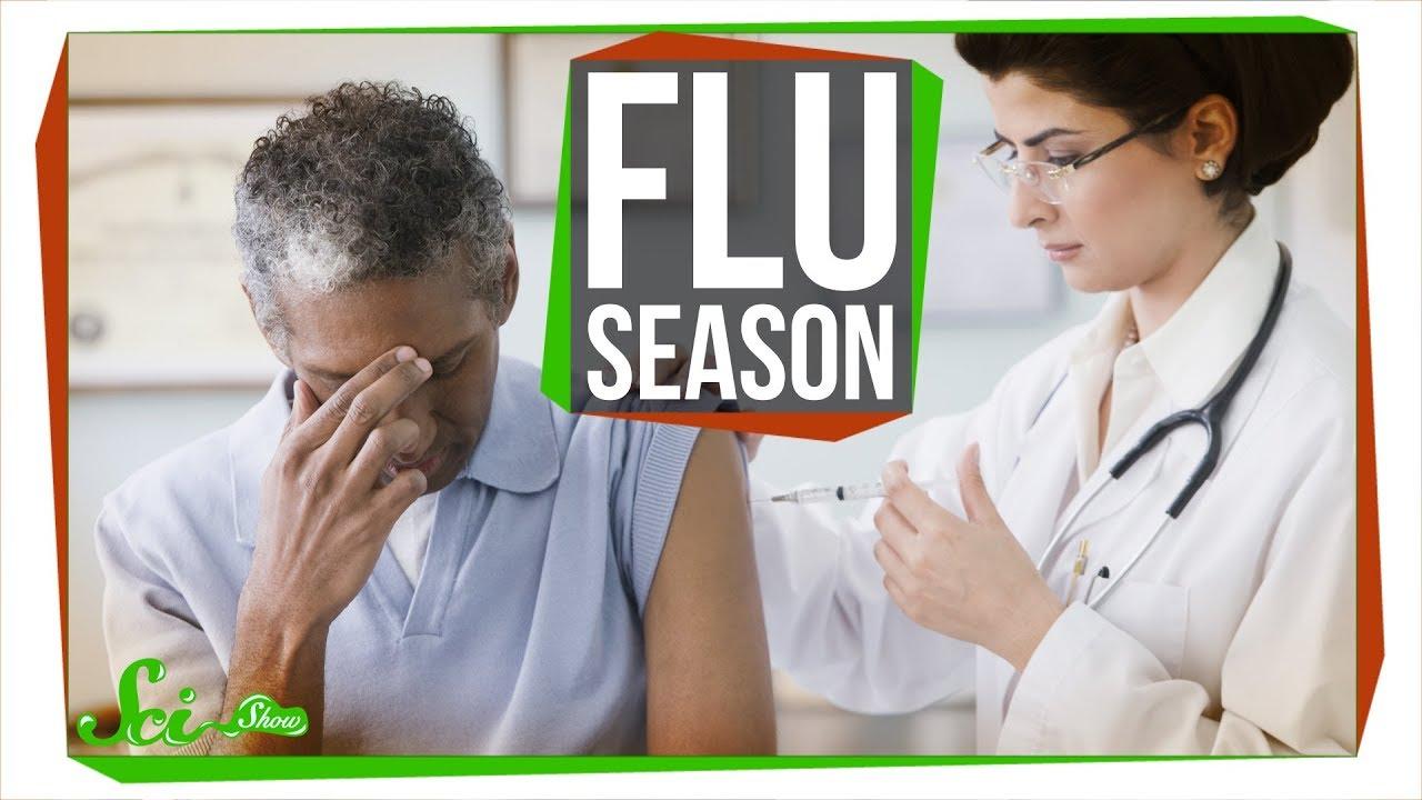 Do flu shots make influenza less severe?