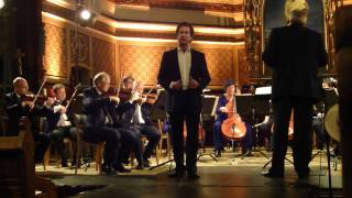 Mathias Zachariassen tenor i Ach Värmeland du sköna