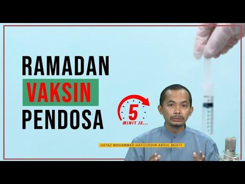 5 Minit Jer Ep 22: Ramadan Vaksin Pendosa