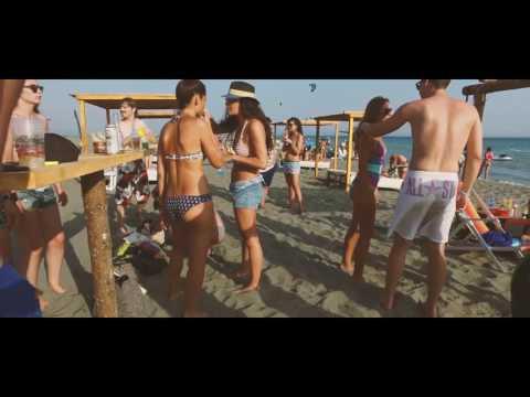Copacabana Giovanni's Beach, Velika Plaza Ulcinj 2016 [4k]