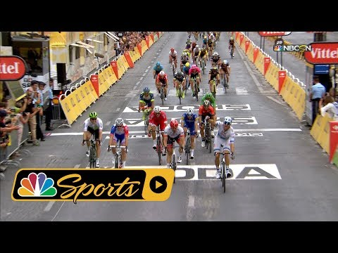Tour de France 2018: Stage 21 finish I NBC Sports