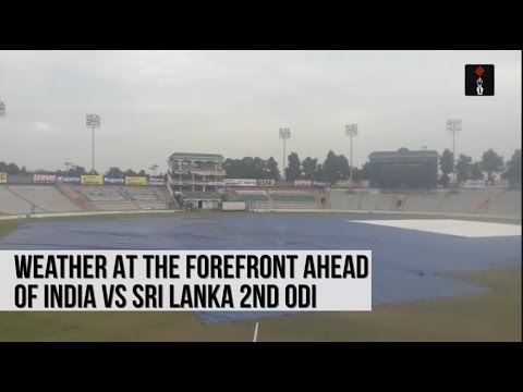 Weather At The Forefront In Mohali Ahead Of India vs Sri Lanka 2nd ODI