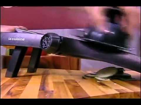 mandolin inox la cuisine youtube. Black Bedroom Furniture Sets. Home Design Ideas