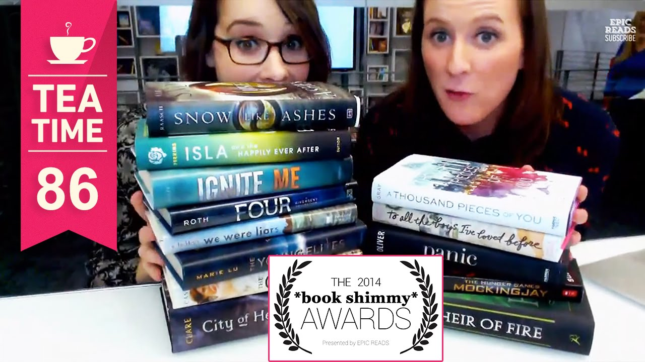 2014 *Book Shimmy* Awards Results Show   Tea Time #86