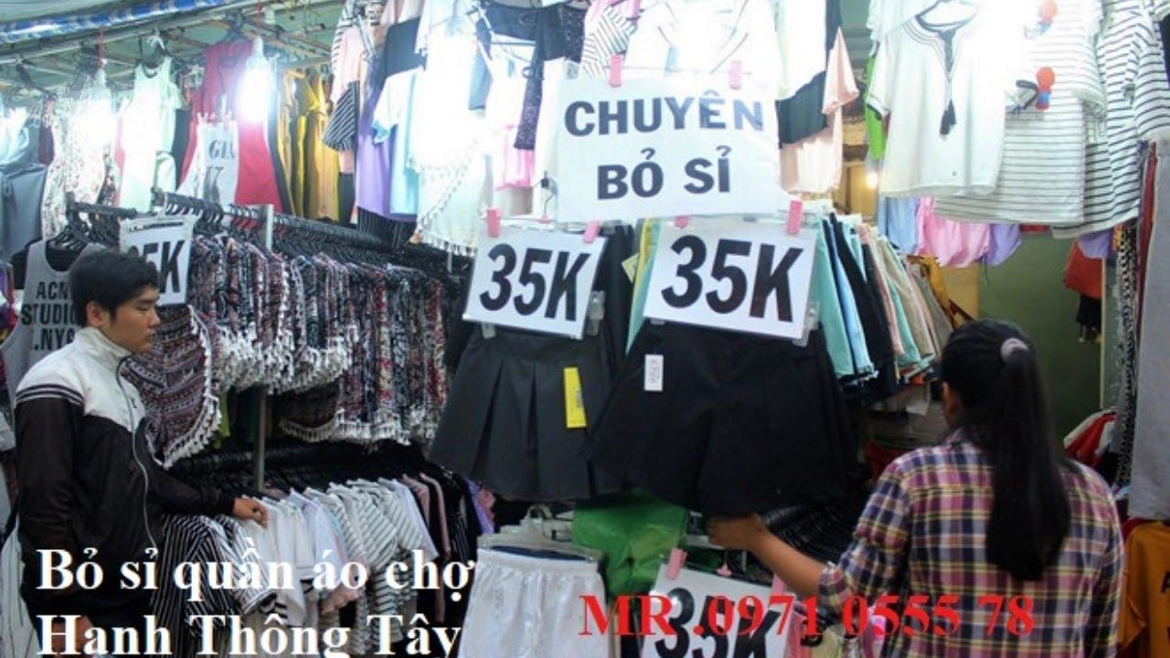 [vnHieu.vn] Bỏ sỉ quần áo chợ Hạnh Thông Tây