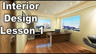 Autocad File Import In 3Dsmax Setup ( Interior Design  Lesson 1) HINDI