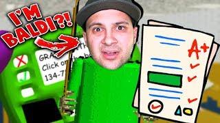 PLAYING AS BALDI?! I'M THE TEACHER NOW! | Baldi's Basics Gameplay (Baldi Mod) thumbnail