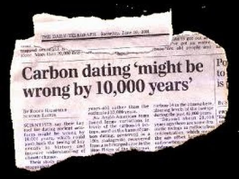 Evidence against carbon dating