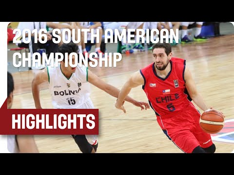 Bolivia v Chile - Game Highlights - 7th Place Game - 2016 FIBA South American Championship