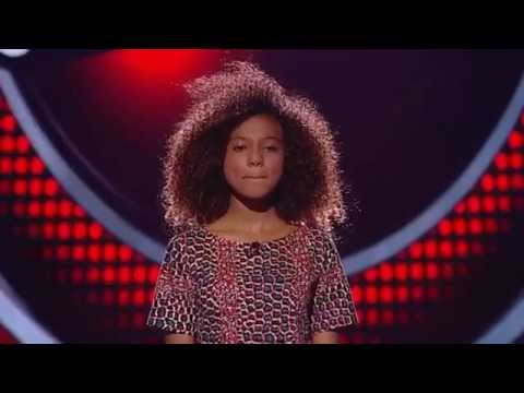 Ariana Abreu sings 'Stay With Me' | The Blind Auditions | The Voice Kids 2014