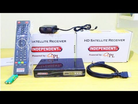 Independent tv unboxing & full HD channels lower price box