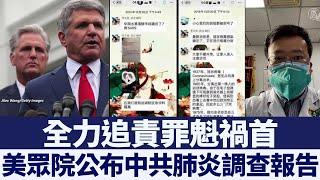 揭中共隱瞞疫情 美眾院公布首份調查報告|新唐人亞太電視|20200617