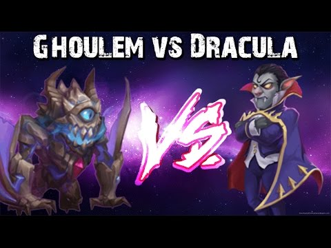 Castle Clash Ghoulem VS Dracula