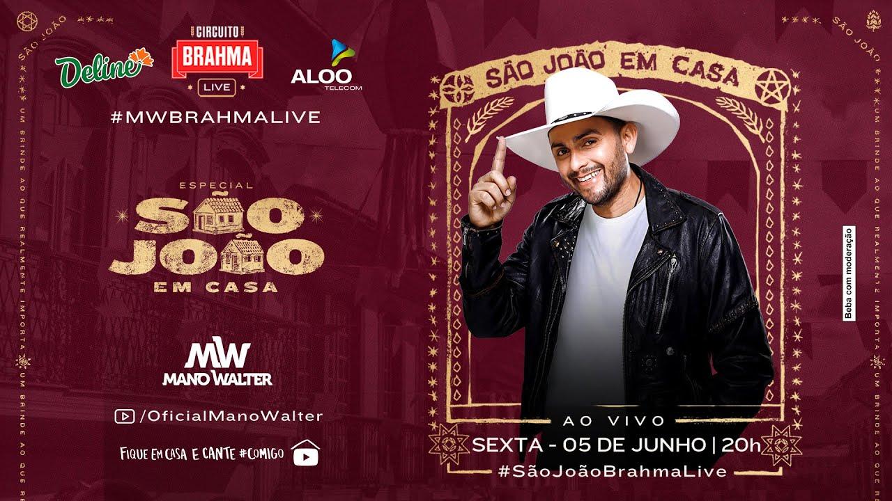 Mano Walter - Live #ArraiádoMano | Fique em Casa e Cante #Comigo