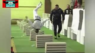 بالفيديو..بطل تايكواندو يحطم الرقم القياسي العالمي