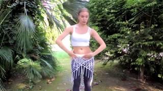 Танец живота - работа диафрагмы - онлайн урок
