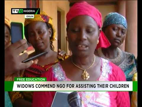 Image result for Widows commend NGO for assisting their children