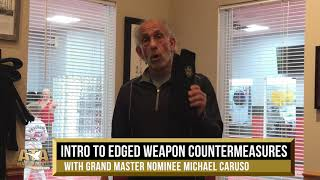 WS19 Intro to Edged Weapon Countermeasures w/ Grand Master Nominee Michael Caruso | ATA Martial Arts