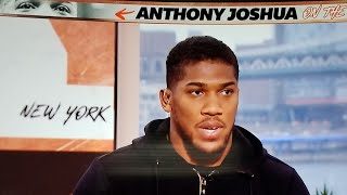 BREAKING NEWS: ANTHONY JOSHUA SAYS WILDER WON, STOP WEARING BLING TALKING ABOUT PPV, LETS FIGHT NOW