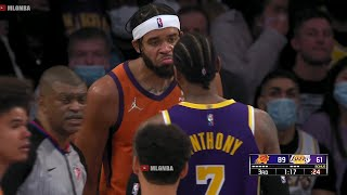 Фото Carmelo Anthony Talk Sh*t To JaVale McGee Down 28 👀 Lakers Vs Suns