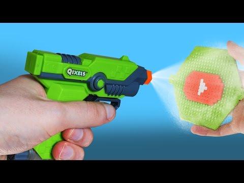 CRASH TEST : pistolet à pixels