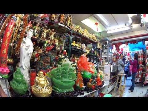 Chinatown, el barrio Chino de Los Angeles, California.