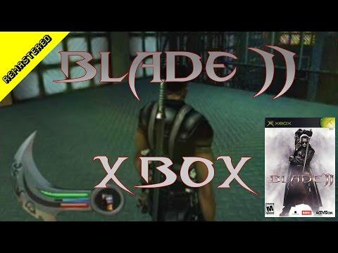 Blade 2 Microsoft Xbox CRGR Remastered   Classic Retro Game Room